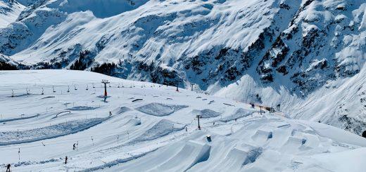 St. Anton snowpark